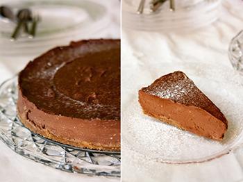 אורה קורן עוגת שוקולד גבינה מטריפה