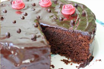 עוגת שוקולד חגיגית