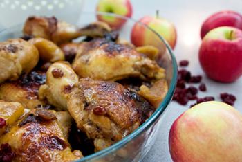 עוף בפירות מיובשים – לא רק בטו בשבט