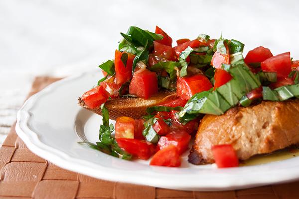 אורה קורן - ברוסקטה - עגבניות או חציל