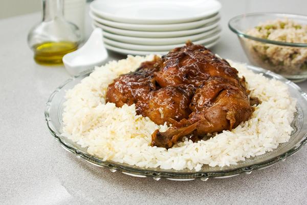 אורה קורן עוף במנגו וקרמל 1