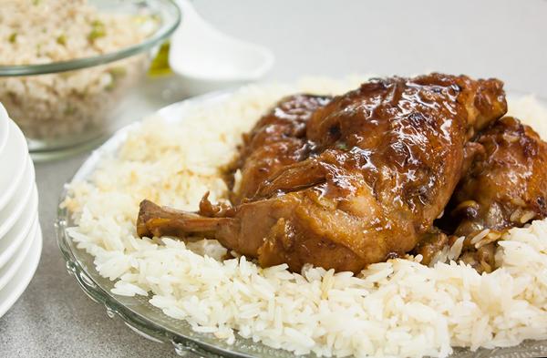 אורה קורן עוף במנגו וקרמל 2
