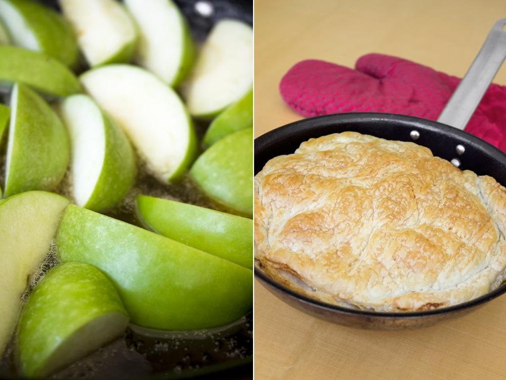 אורה קורן טארט טאטן - מאפה תפוחים1