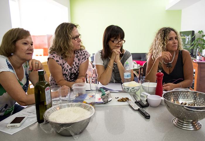 אורה קורן סדנאת בישול איטלקי יום הולדת 03