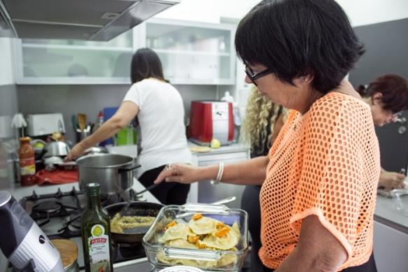 אורה קורן סדנאת בישול איטלקי יום הולדת 30