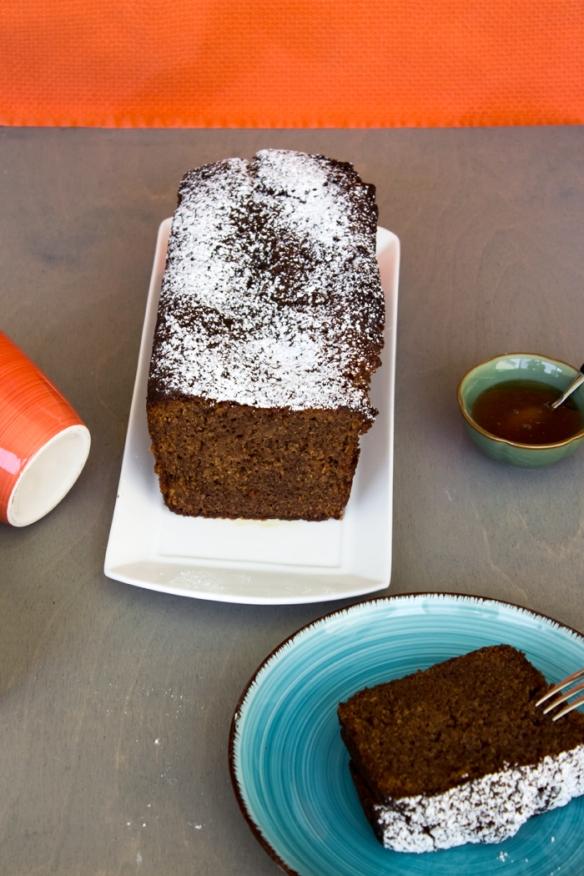 אורה קורן עוגת דבש וקקאו 1