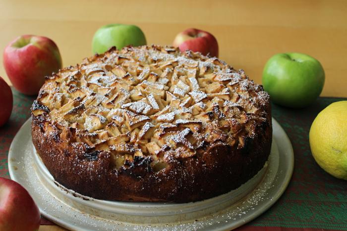 עוגת תפוחים מפוארת