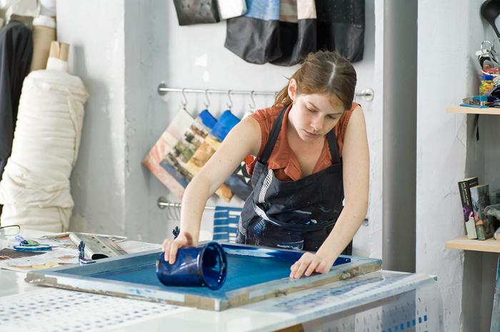 סטודיו ליצור תיקים וצעיפים, Urban Textiles. קרדיט צילום: איה וינד